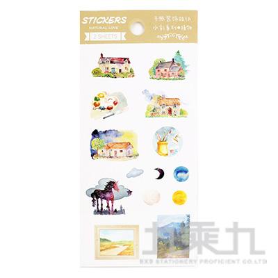 守望-手帳裝飾貼 HC-24826