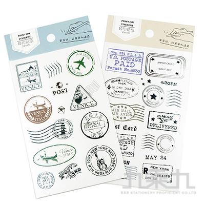 35號手帳轉印貼紙-郵寄小票 HC-24536