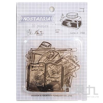 47號手帳貼紙包-懷舊 HC-31008