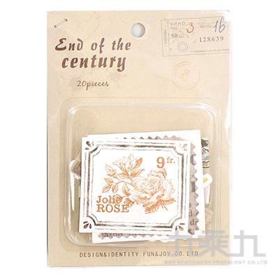 47號手帳貼紙包-世紀末 HC-30339