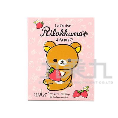 拉拉熊四折造型便利貼(草莓版) RK11548A