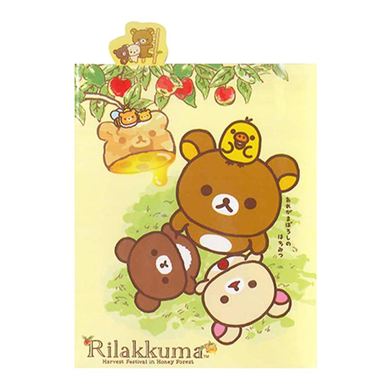 拉拉熊四折造型便利貼-蜜蜂版 RK13421A