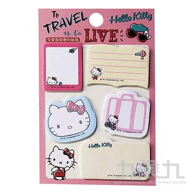 Hello Kitty 可愛裁型便利貼組 195876