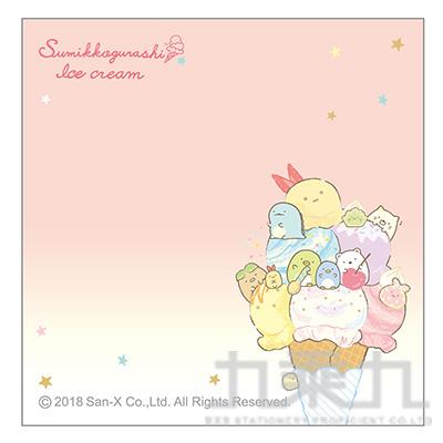 小夥伴方型便利貼-冰淇淋 SGMG0104