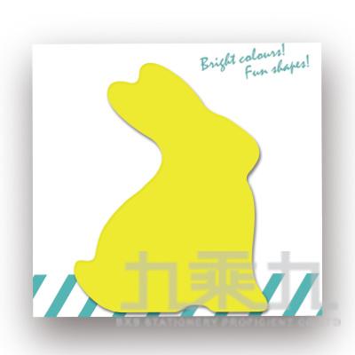 動物造型便條本-兔子 61031