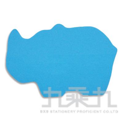 動物造型便條本-犀牛 61037