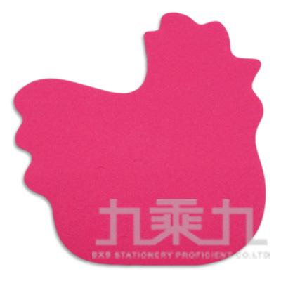 動物造型便條本-公雞 61038(50張/本)