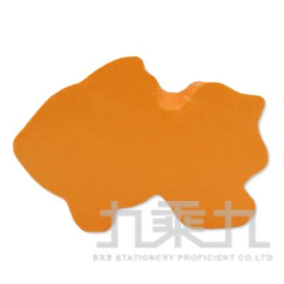 動物造型便條磚-金魚(螢光橘)61054 200張/本