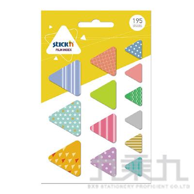 N次貼造型標籤-三角 66069