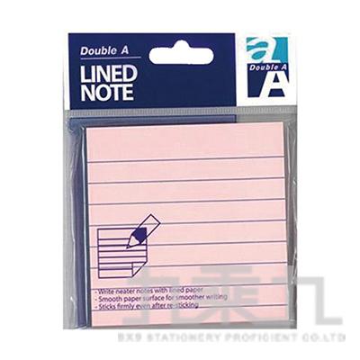 DA便利貼/3x3/粉紅色(橫格) DASN17002