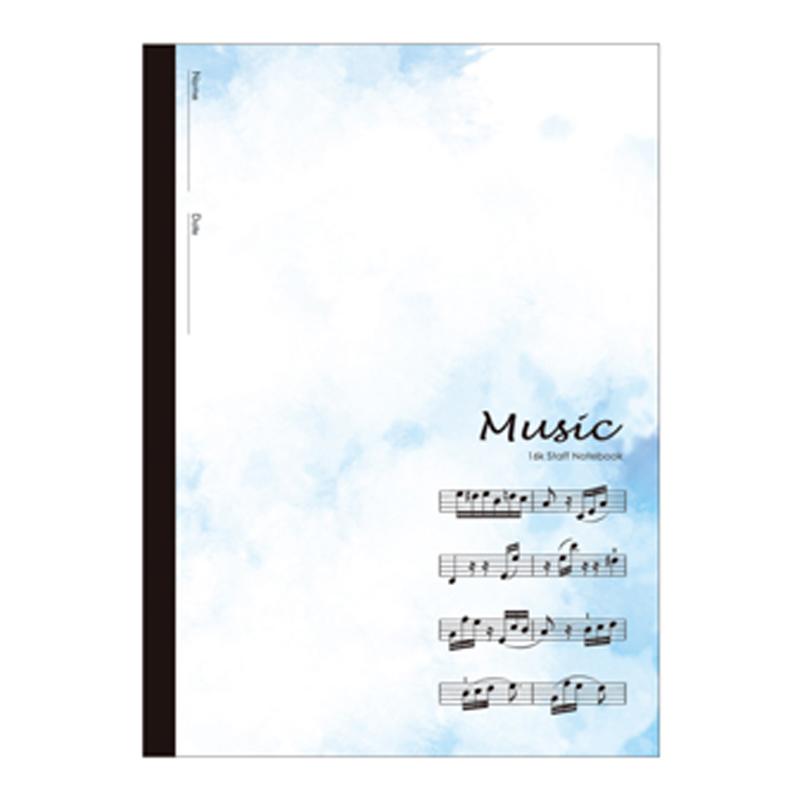BJ2507-17 音樂簿16K-藍譜