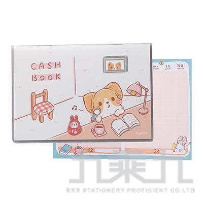 柯基犬記帳本(福氣滿滿)橫式 59563