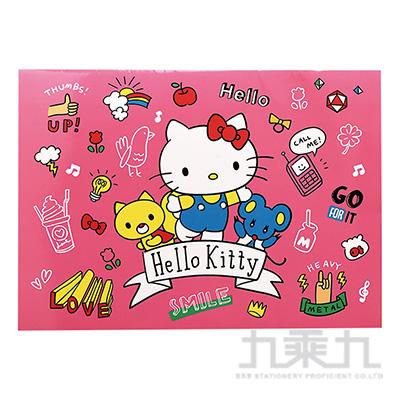 Hello Kitty 騎馬釘貼紙收集冊  195856