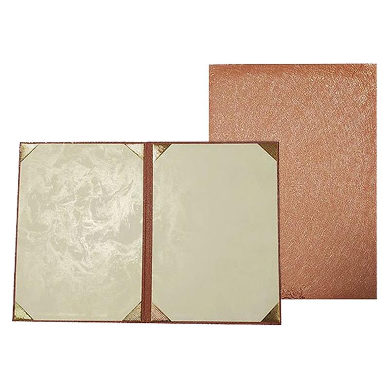 A4燙金證書獎狀夾(古銅金) UA700202-3