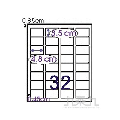 電腦標籤35*48mm L3548