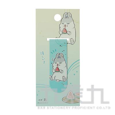 ㄇㄚ幾燙金書籤(小西瓜) 09517