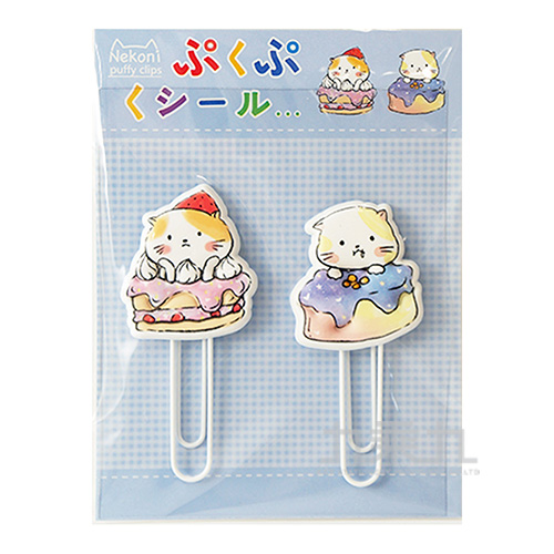 甜食控小貓書籤(2入) 85684-1