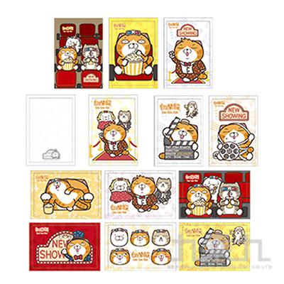白爛貓明信片(多款隨機)
