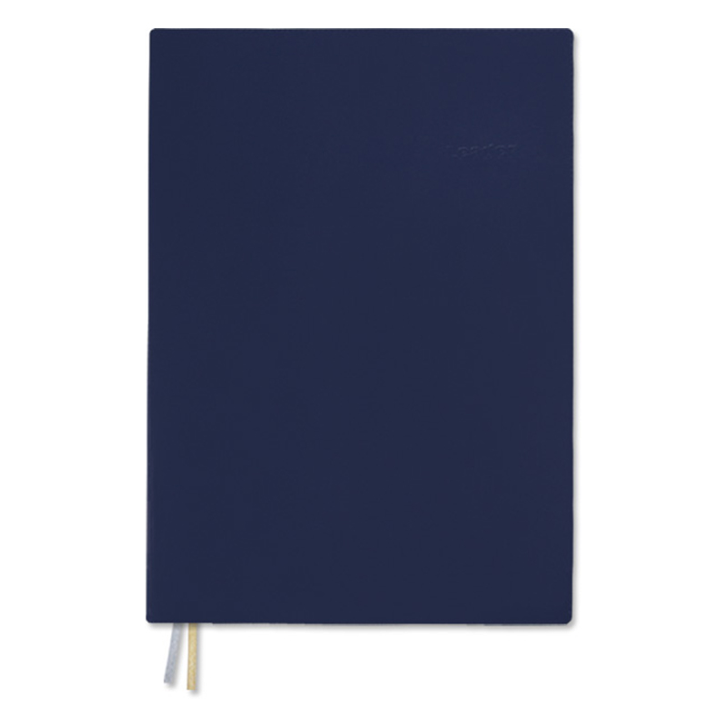 A6加厚膠皮筆記(橫線)-藍
