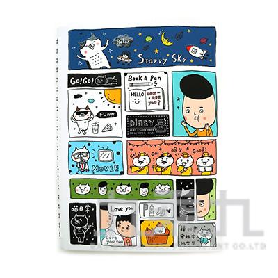 32K隨想手札(淡定劇場)-淡定man CD-3271B