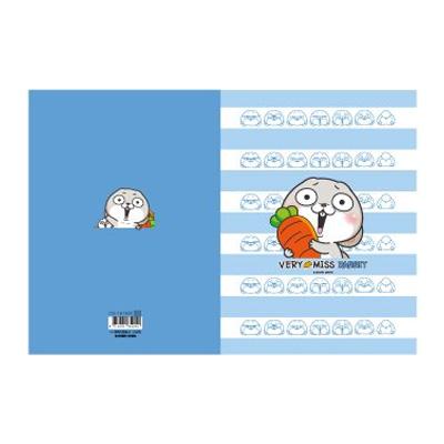 16k東康加厚定頁筆記(最愛蘿蔔)-好想兔 CN-16153C