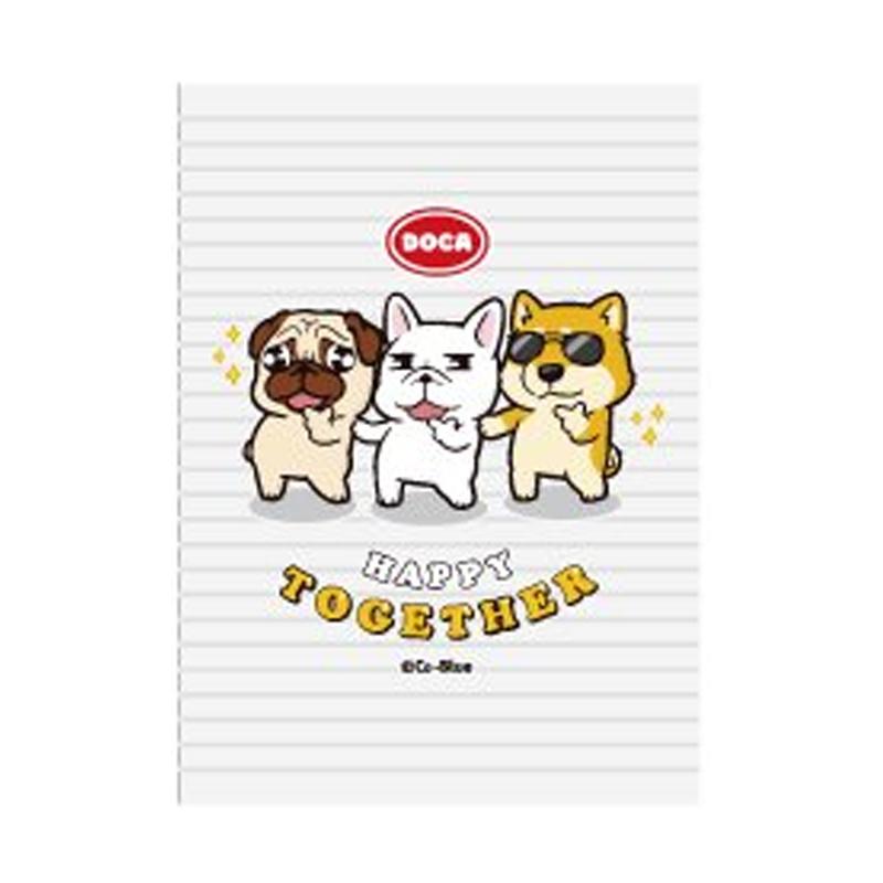 25k東康加厚定頁筆記(HAPPY TOGETHER)-豆卡