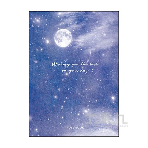 25K固頁5mm方格筆記-星空物語D3 W02-108