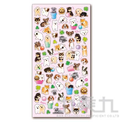 療癒動物貼紙/寵物犬 MIND:SE78988