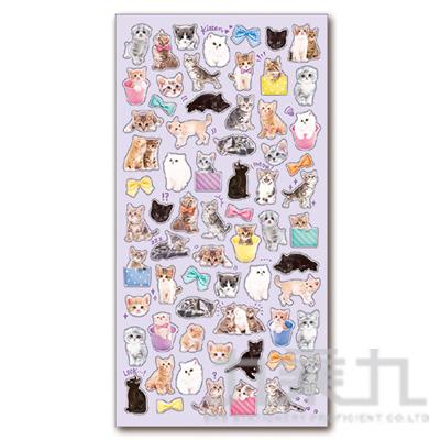 療癒動物貼紙/小貓咪 MIND:SE78990
