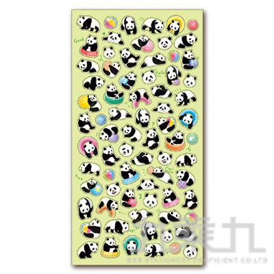 療癒動物貼紙/熊貓 MIND:SE78991