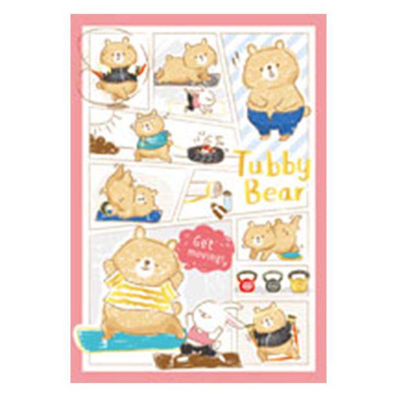 筆記空白32K-粉熊 BJ6401-07