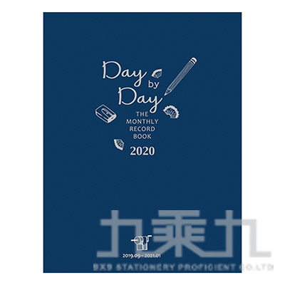 2019年25K跨年月誌-藍字 SS1910-02