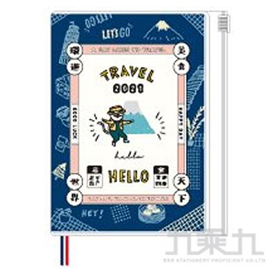 2021 50K跨年夾鏈袋手帳( 趴趴GO )-貓行李
