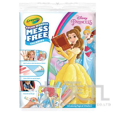 Crayola神彩著色套裝-迪士尼公主