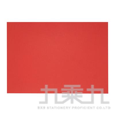4K 紅色素面卡