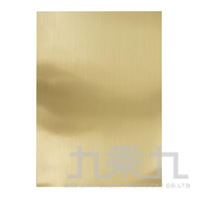 日本鋁卡紙A4金(霧) A216