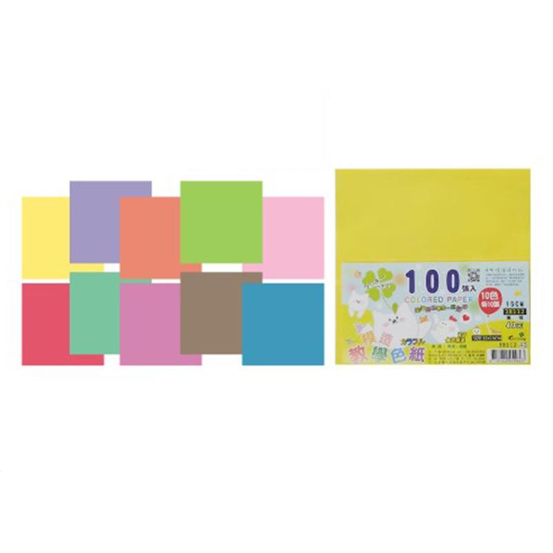 模造教學色紙100張38112