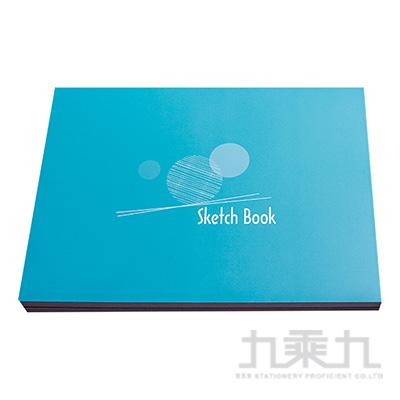 16K愛話畫繪圖本-藍 IT2716-1