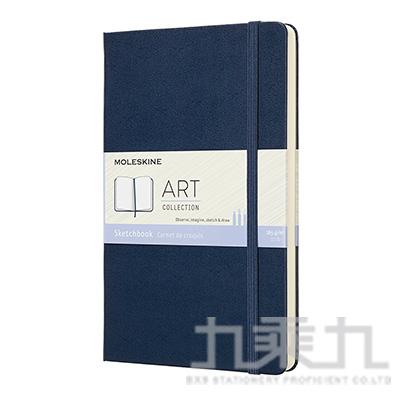 MOLESKINE 藝術系列素描本L型-寶藍 ML715611