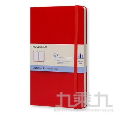 MOLESKINE 藝術系列素描本L型-紅 ML930345