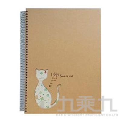 SWEET CAT 16K精裝素描簿 2598
