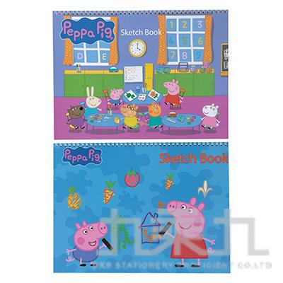 粉紅豬小妹9k手提易撕素描本(5) PGSK150-5 (款式隨機)