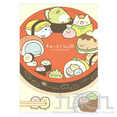 A4資料夾 壽司貓 FY08405