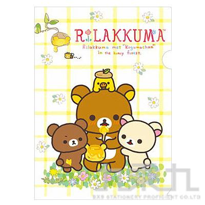 A4資料夾 Baby熊野餐中 FY10102