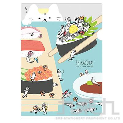 A4資料夾 銀魚壽司1 FY10301