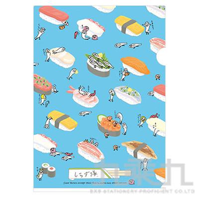 A4資料夾 銀魚壽司2 FY10401