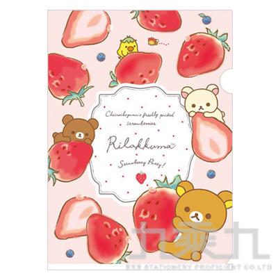 A4資料夾 草莓季 FY18701
