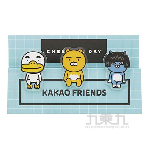 KAKAO FRIEND夾子藍色 0655127558057