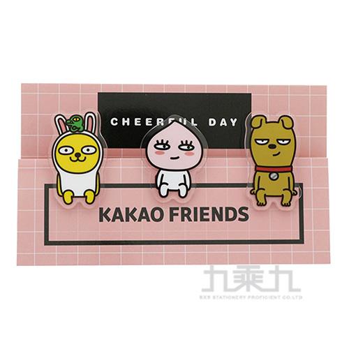 KAKAO FRIEND夾子粉紅色 0655227558058