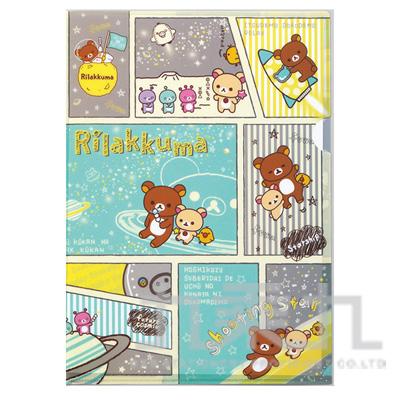 拉拉熊L夾-太空漫畫 RK10038A